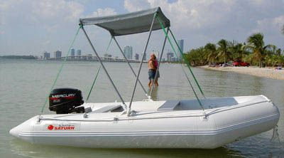 Margarita's Review of a Saturn, SD330 - Inflatable-Boats com